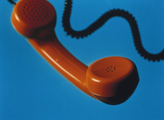 Red Telephone Handset by Sandro Sodano (b.1966) Private Collection/ © Special Photographers Archive