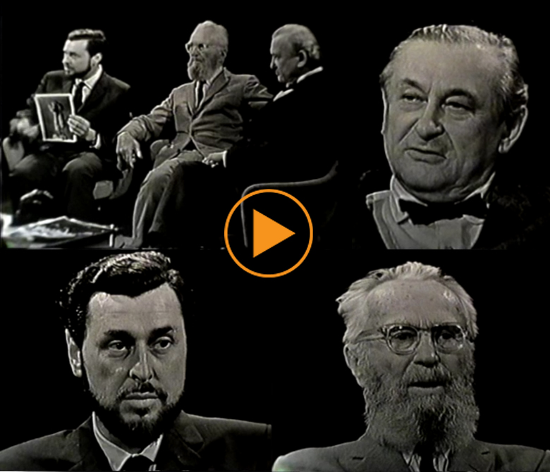 Rodin discussion; Edward Steichen, Jacques Lipschitz, Leo Steinberg / Creative Arts Television / Bridgeman Footage