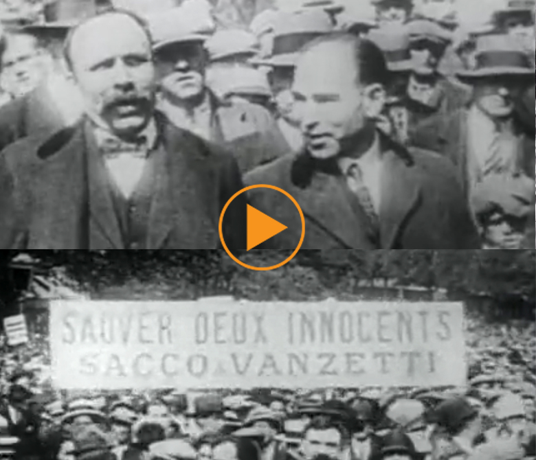 Sacco and Vanzetti trial / Bridgeman Footage