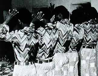 Very Good Friends in the Same Outfit, 1972. Malick Sidibe(b.c.1935) / Museum of Fine Arts, Houston, Texas, USA