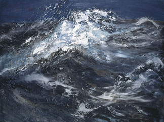 Big Sea, 2005 by Maggi Hambling / Private Collection
