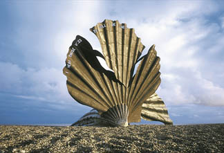 Scallop, 2003. Aldeburgh beach, Suffolk, UK