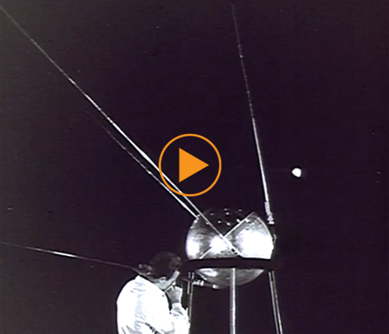 Sputnik 1 launch in 1957 / Bridgeman Footage