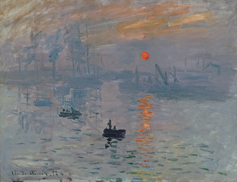 Impression: Sunrise, 1872 (oil on canvas), Claude Monet (1840-1926)/ Bridgeman Images
