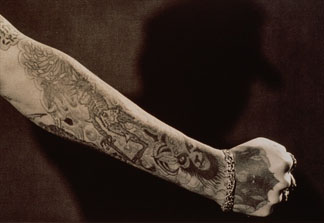 Tattooed Arm by Robert Mann (20th century)  © Special Photographers Archive