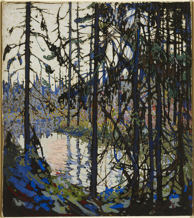 Study for 'Northern River', 1914-15, Thomas John Thomson (1877-1917) / Art Gallery of Ontario, Toronto, Canada