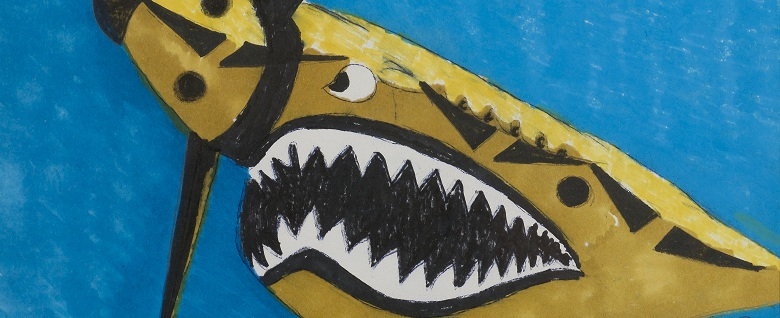 Flying Tiger, 1981 (detail) by Eileen Agar / Private Collection