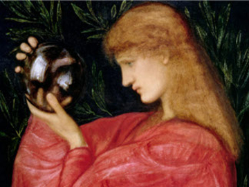 Astrologia, 1865 (gouache on paper), Burne-Jones, Sir Edward Coley (1833-98) / Private Collection / Photo © Agnew's, London, UK