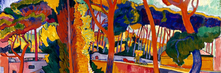 The Turning Road, L'Estaque / Andre Derain / Museum of Fine Arts, Houston / Museum purchase funded by Audrey Jones Beck / Bridgeman Images