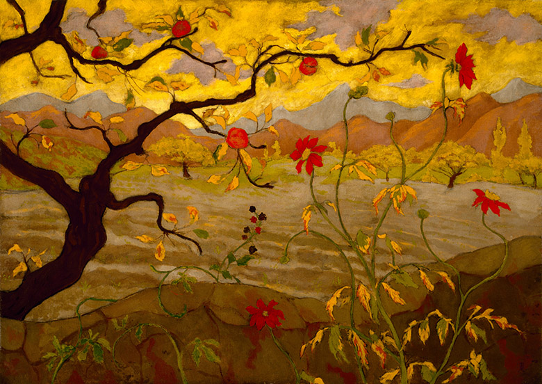 Appletree and Red Fruit, c.1902, Paul Ranson (1863-1909) / Museum of Fine Arts, Houston / Museum purchase funded by Audrey Jones Beck / Bridgeman Images