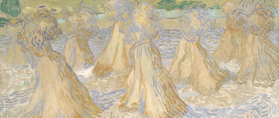 Sheaves of Wheat / Vincent van Gogh