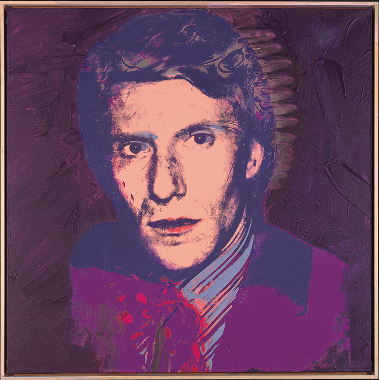 Yves Saint Laurent, 1974 (silkscreen ink & polymer paint on canvas), Andy Warhol (1928-87) / Private Collection / Photo © Christie's Images / Bridgeman Images