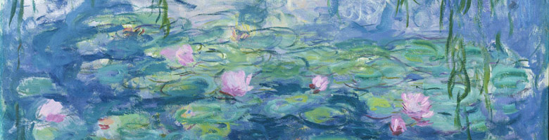Waterlilies, 1916-19 (oil on canvas), Claude Monet (1840-1926)/ Bridgeman Images