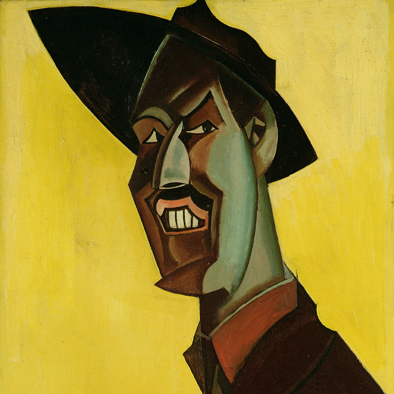 Mr Wyndham Lewis as a Tyro, c.1920-21 by Percy Wyndham Lewis (1882-1957) / Ferens Art Gallery, Hull Museums, UK