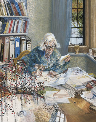 Dorothy Hodgkin, 1985 by Maggi Hambling / National Portrait Gallery, London, UK