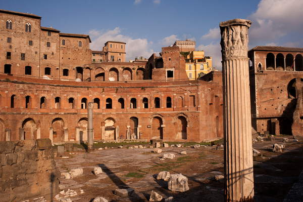 The ruins of Trajan's Market in Rome (photo) / Tino Soriano / National Geographic Image Collection / Bridgeman Images