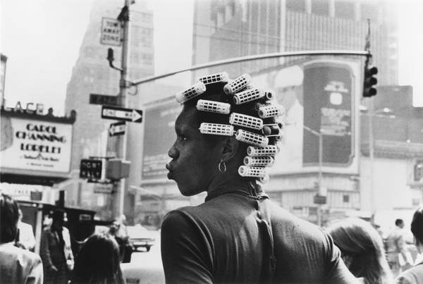Neil Libbert: a witness to events. Bridgeman Collections Gems New York girl in rollers, 1974