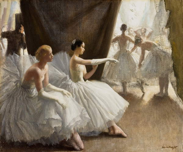 Ballet, 1936 (oil on canvas), Laura Knight, (1877-1970) / Lady Lever Art Gallery, National Museums Liverpool / Bridgeman Images