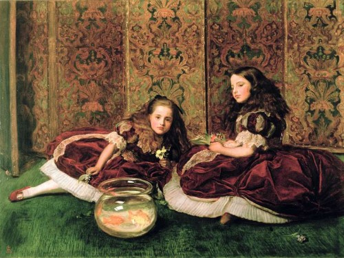 Leisure Hours, 1684 (oil on canvas) by Sir John Everett Millais (1829-96)/ The Detroit Institute of Arts, USA/ Founders Society Purchase, R.H. Tannahill Foundation fund